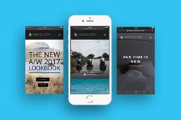 iPhone Website Design - League Collective