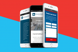 Imperial Building Solutions Website Design