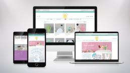Up In Lights Website Design