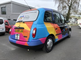 London Taxi Livery Plymouth